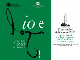 """La mostra """"Io e Leonardo"""" a Palazzo Pirelli, fino al 3 dicembre"""