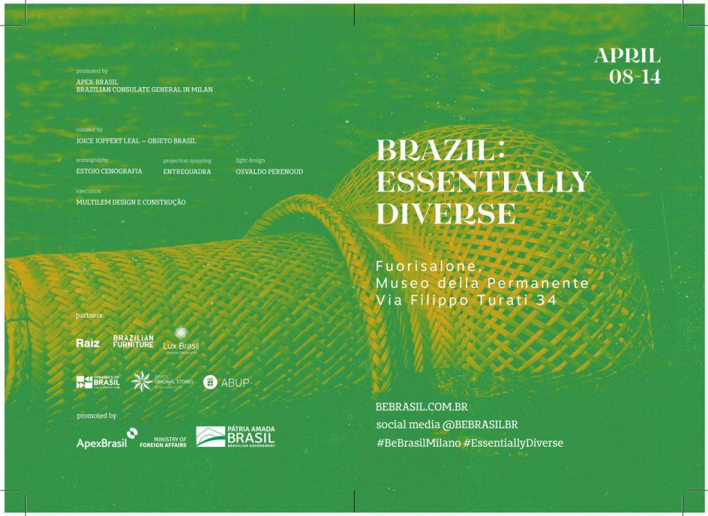 FUORISALONE – BRAZIL Essentially Diverse