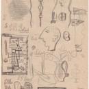 Atanasio Soldati, Disegno, 1947-1950, cm 25 x 17,5
