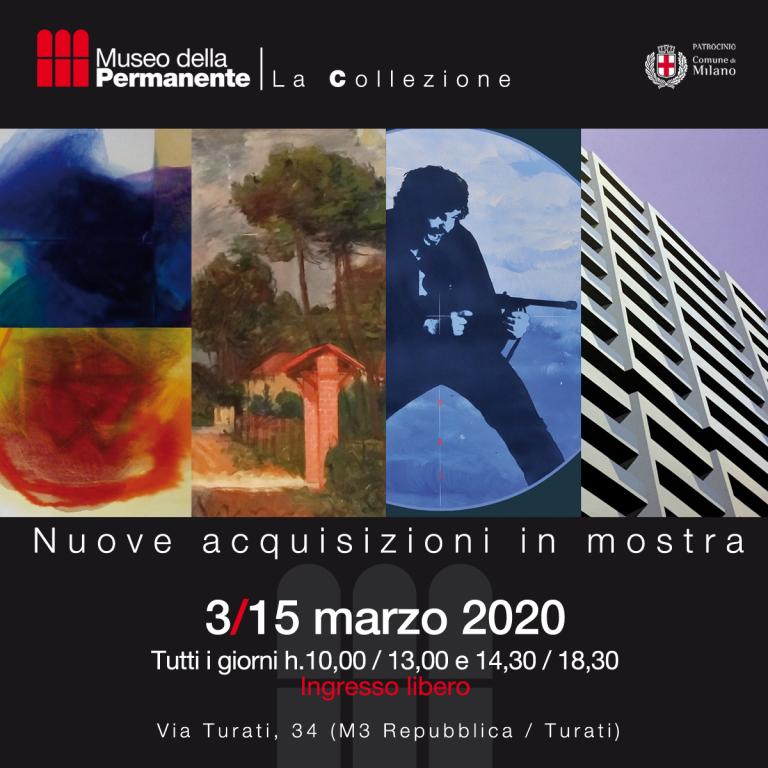 ANNULLATA: La mostra delle NUOVE ACQUISIZIONI della collezione del Museo