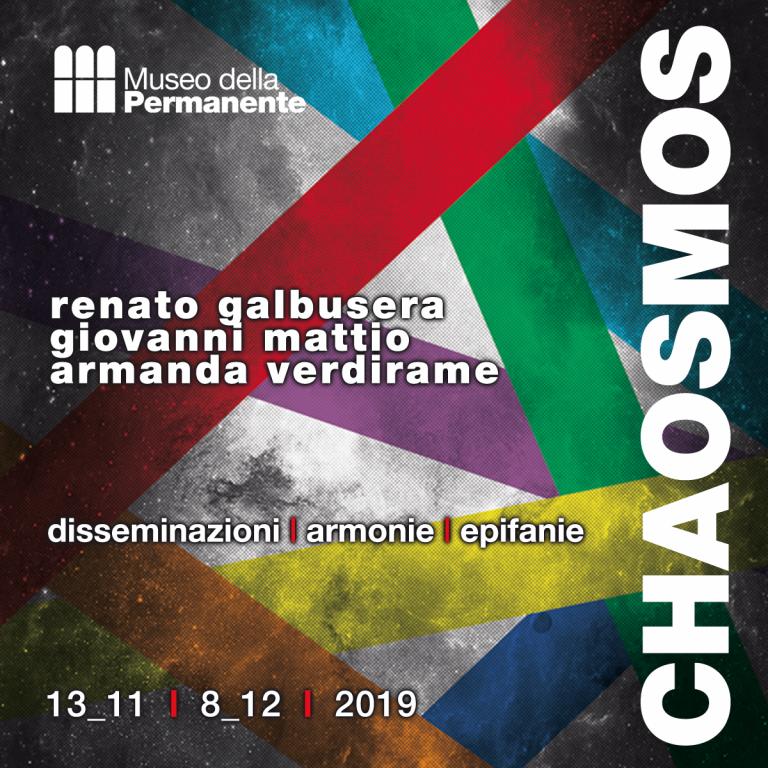 CHAOSMOS dal 13 novembre al 8 dicembre 2019