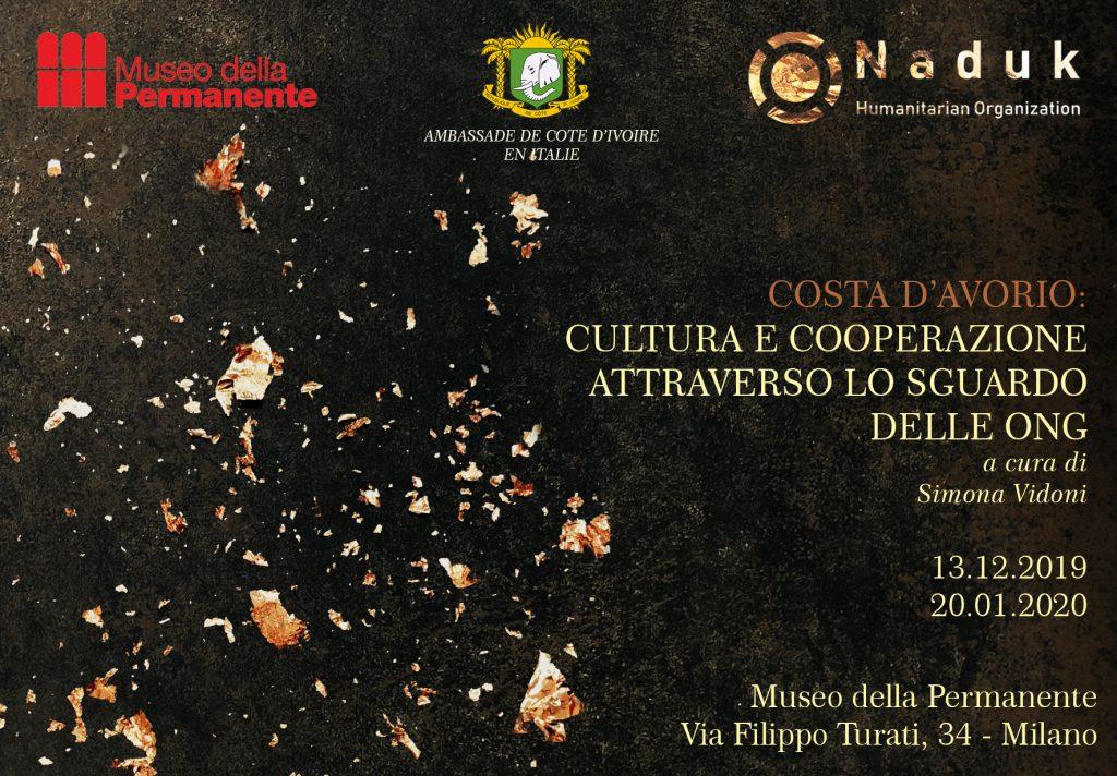 COSTA D'AVORIO: cultura e cooperazione attraverso lo sguardo delle ONG – dal 13/12 al 20/01