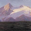 Emilio Longoni. Ghiacciaio, 1910-1912, Olio su tela, 87 x 156 cm