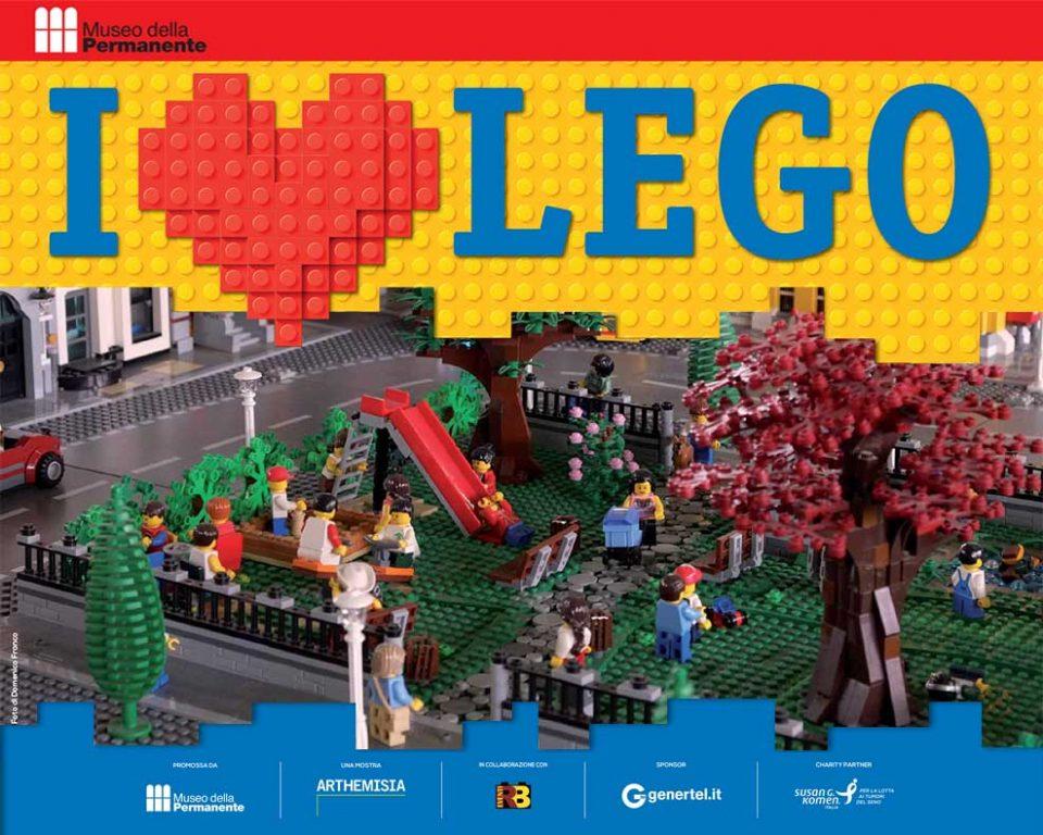 I LOVE LEGO fino al 2 febbraio 2020
