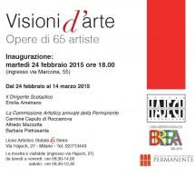 """VISIONI D'ARTE"", OPERE DI 65 ARTISTE"