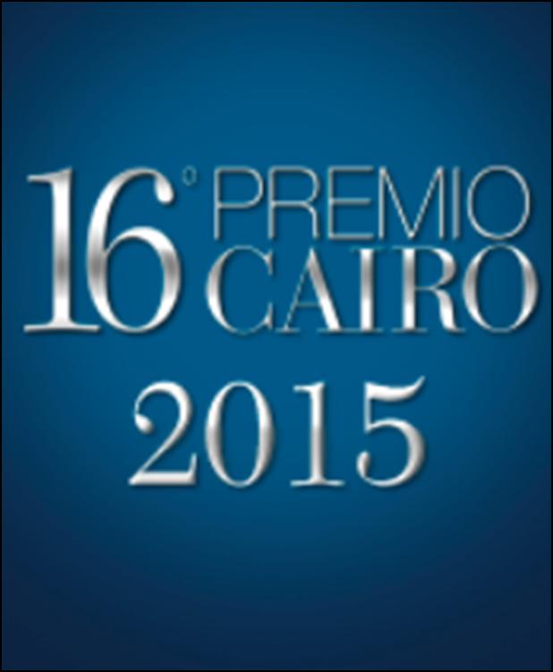16° PREMIO CAIRO 22-25 OTTOBRE 2015