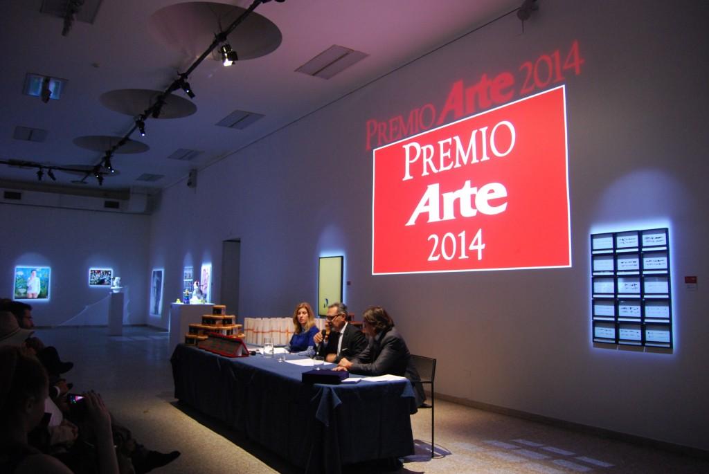 PREMIATI I VINCITORI DEL PREMIO ARTE  E DEL PREMIO CAIRO 2014