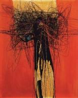 Roberto Crippa, Spirali, 1952, olio su tela, Collezione privata