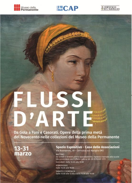 FLUSSI D'ARTE a Cernusco sul Naviglio, MI